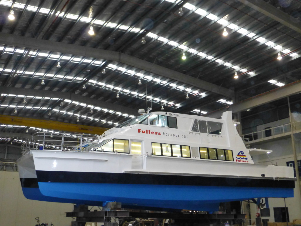 Fast Passenger Ferry 'Harbour Cat' - Ready for Launch